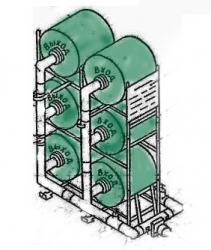 Фильтровентиляционный комплект для защитных сооружений ФВК-2
