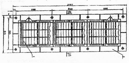Унифицированные защитные секции УЗС-1, УЗС-8, УЗС-25