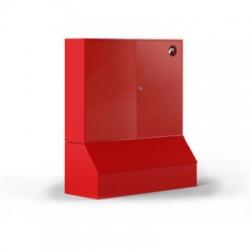 Щит металлический без окна с ящиками для песка