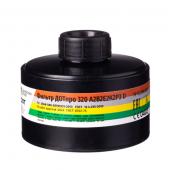Фильтр для противогаза комбинированный ДОТпро 320 А2B2E2K2Р3RD