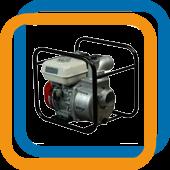 Мотопомпы для слабозагрязненной воды