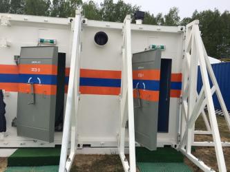 Готовое защитное сооружение КУБ-М
