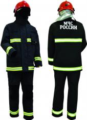 Боевая одежда пожарного модель 010-2016 (тип У, вид Т)