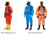 Химзащитные костюмы Dräger CPS 6800/7000