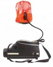 Самоспасатель со сжатым воздухом с капюшоном Dräger Saver CF