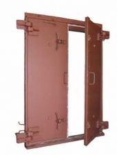 Ворота защитно-герметические распашные ВУ-III-5